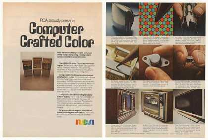 RCA Computer Crafted Color TV for 1970 (1969)