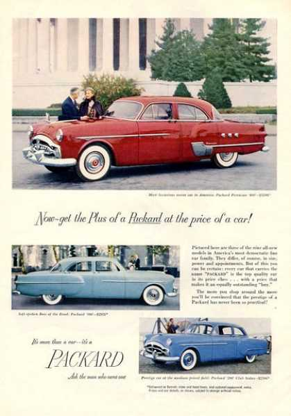 Packard 200 300 400 Patrician (1951)