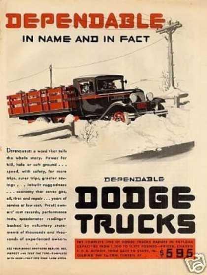 Dodge Truck Color (1931)