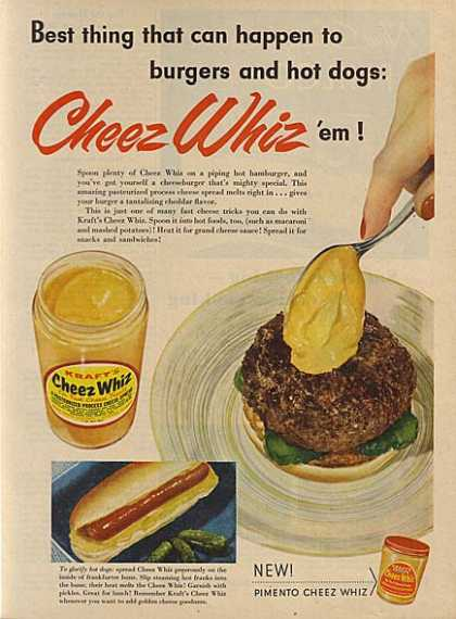 Kraft&#8217;s Cheez Whiz (1956)