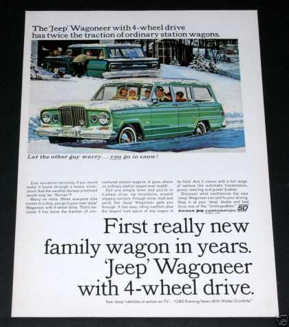 Jeep Wagoneer, 4-wheel Drive (1964)