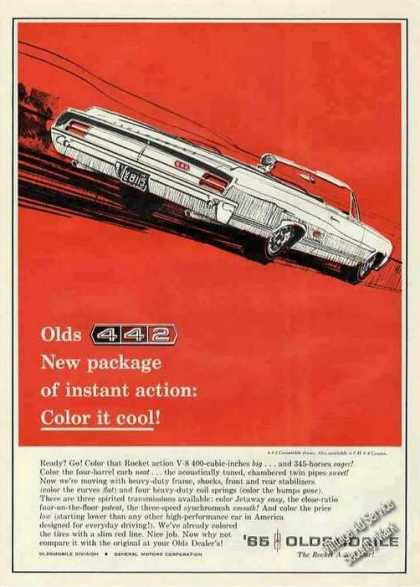 "Oldsmobile 442 Convertible ""Color It Cool"" (1965)"