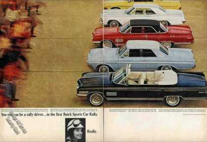 "Buick Photos ""First Buick Sports Car Rally"" (1964)"