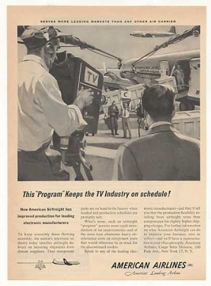 '53 American Airlines Air Freight TV Camera Industry (1953)