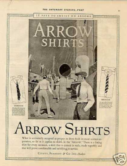 Arrow Shirts (1923)