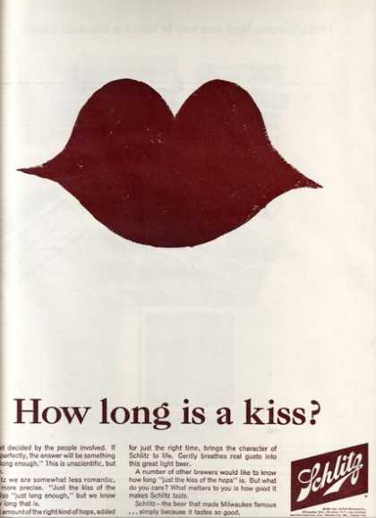 """How long is a kiss?"" (1965)"