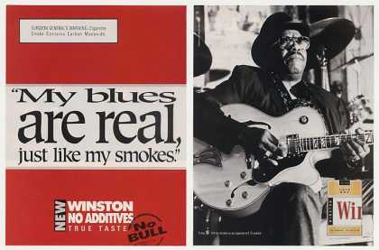 Winston Cigarette Blues Guitar Player (1997)