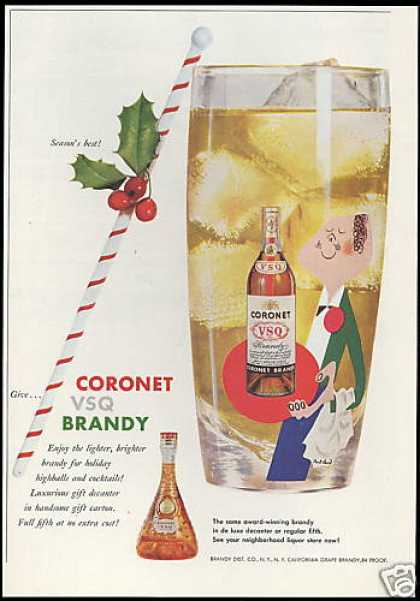Coronet VSQ Brandy Paul Rand Art (1958)