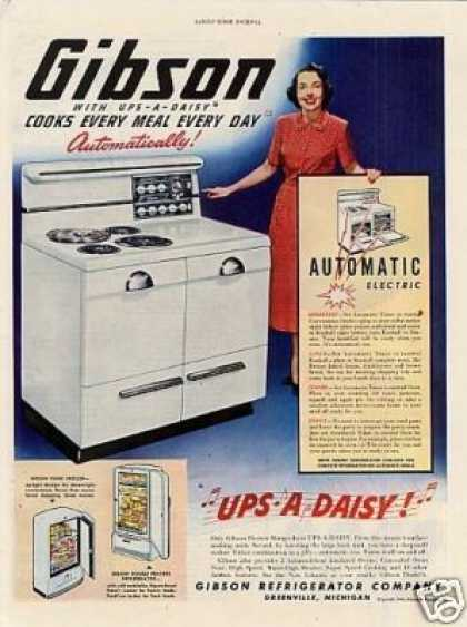 Gibson Electric Range (1948)