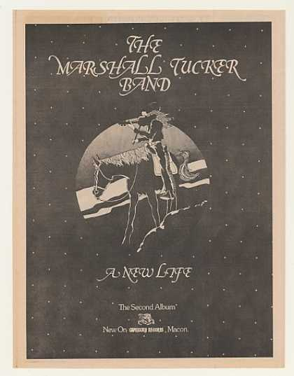 The Marshall Tucker Band A New Life (1974)