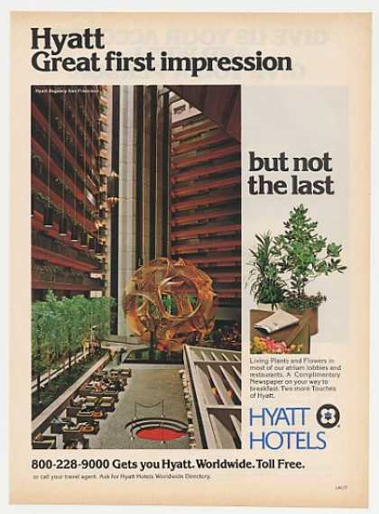 Hyatt Regency Hotel San Francisco Photo (1978)