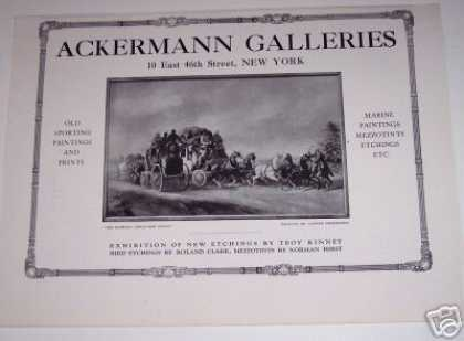 Ackermann Galleries N.y Art Cooper Henderson (1923)