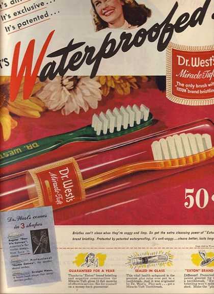 Dr. West's Toothbrushes (1945)