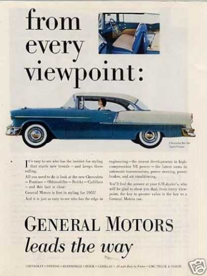 General Motors Chevrolet Bel Air Sport Coupe (1955)