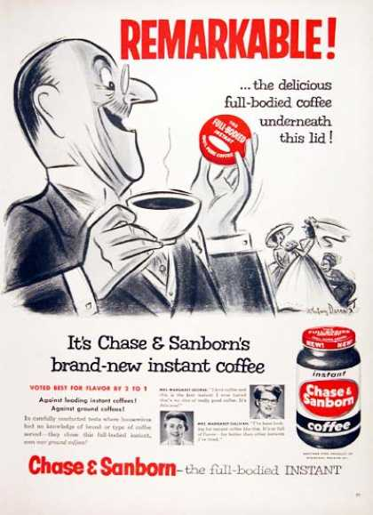 Chase & Sanborn Coffee (1956)