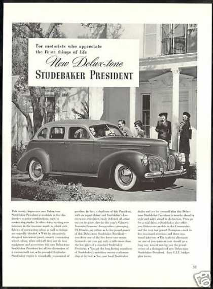 Studebaker Deluxe President Car Photo (1940)