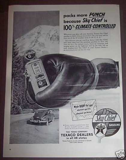 Sky Chief Gasoline Gas (1953)