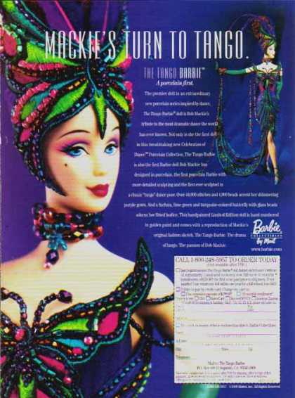 Barbie Doll – Mackies Turn To Tango Barbie (1999)
