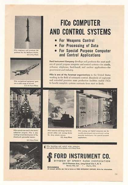 Ford Instrument FICo Military Computer Control (1957)