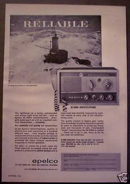 Apelco Ae-50ma Radio-telephone for Sailing (1964)