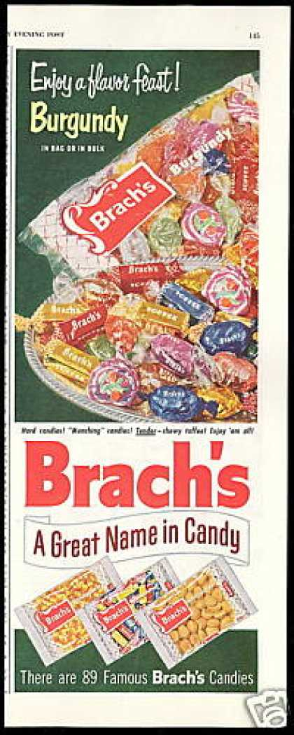 Brach's A Great Name In Candy (1954)