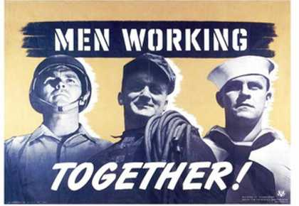 Men Working Together