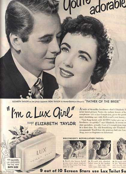 Toilet Soap – Lux (1950)