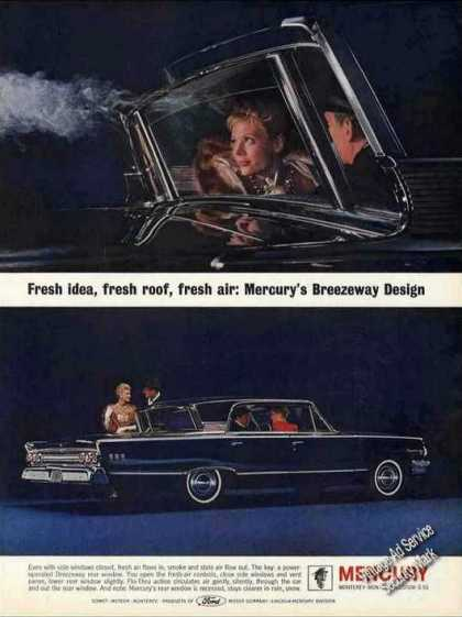 "Mercury Photos ""Breezeway Design"" Car (1962)"