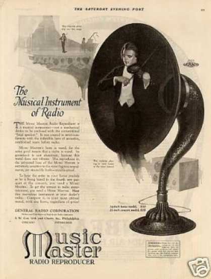 Music Master Radio Reproducer (1923)