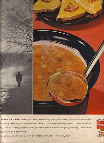 Campbell's Vegetable Beef Soup (1957)