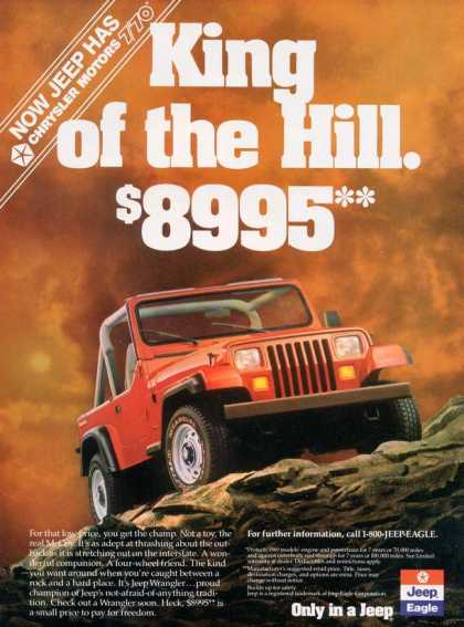 Chrysler's Jeep Wrangler (1989)