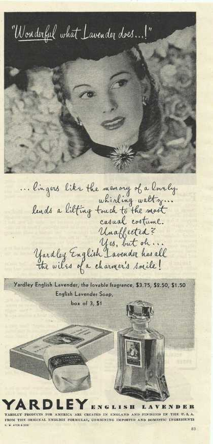 Yardley English Lavender (1944)
