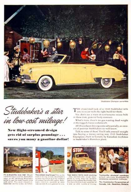 Studebaker Champion Convertible (1949)