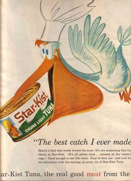 Star Kist&#8217;s Chunk Light Tuna (1960)