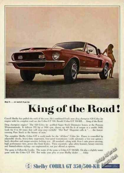 "Shelby Cobra Gt 500-kr ""King of the Road"" (1968)"