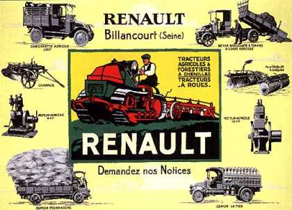 Renault by Roger Broders (1920)