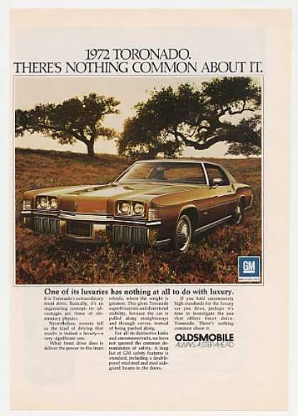 '71 1972 Oldsmobile Toronado Nothing Common (1971)