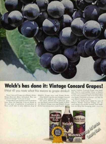 Welch's Has Done It: Concord Grapes (1965)