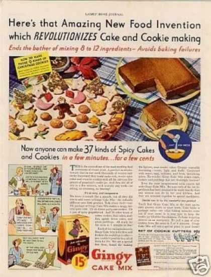 Gingy Cake Mix (1935)