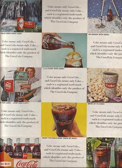 Coca Cola Company&#8217;s Coca-Cola (1962)