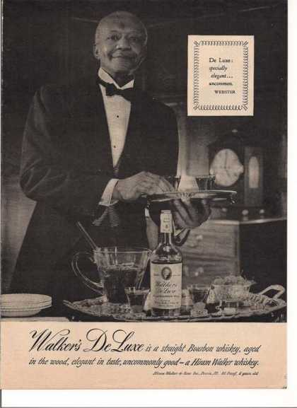 Walkers De Luxe Straight Whiskey (1948)