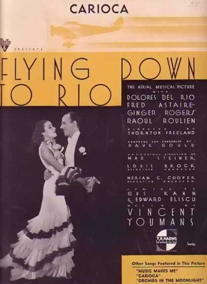 Carioca – Fred Astaire Movie Sheet Music (1933)