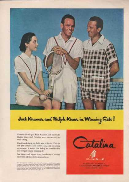 Catalina Sport Set Clothing (1955)