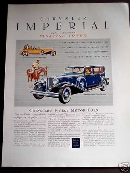 Chrysler Imperial Custom Eight Sedan Car (1932)