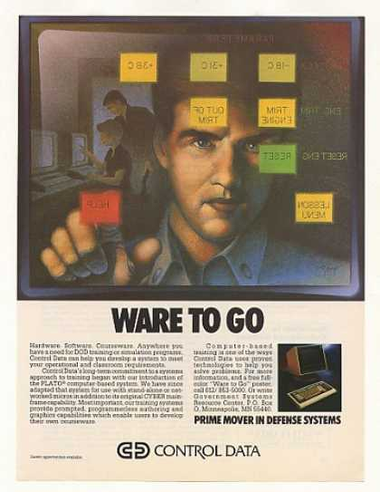 Control Data Defense Computer Training (1986)