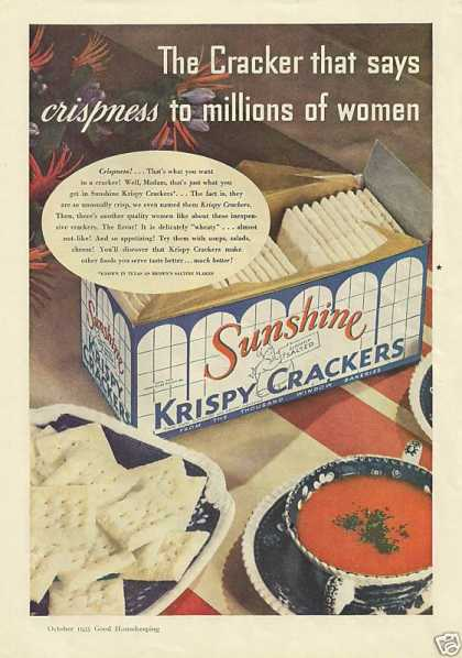 Sunshine Krispy Crackers (1935)