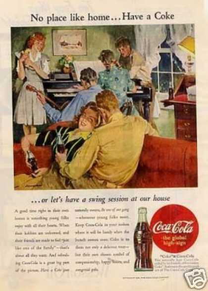 "Coca-cola Ad ""No Place Like Home... (1945)"