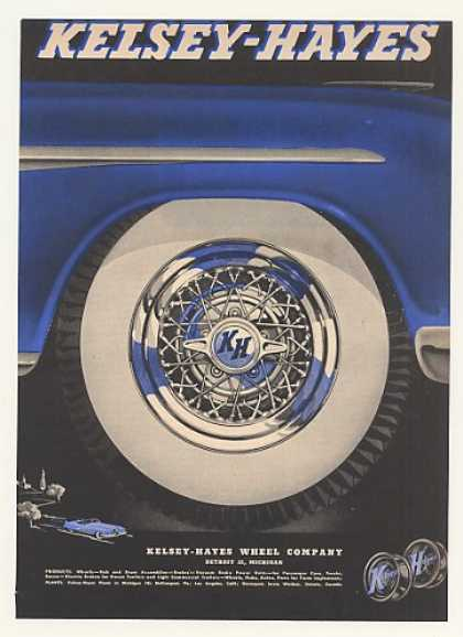 Kelsey-Hayes Automobile Wheel Hub (1952)