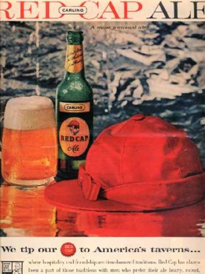 Carling's Red Cap Ale (1959)