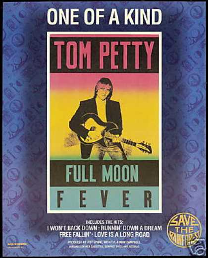 Tom Petty Full Moon Fever Record Promo (1989)